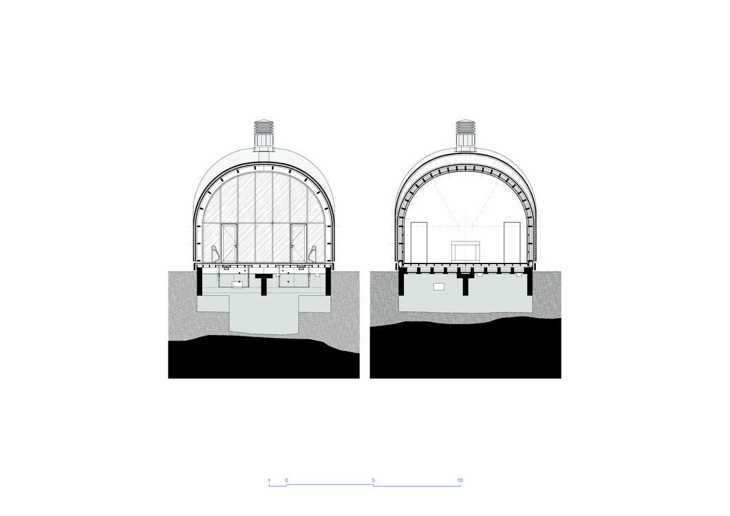 Belomorbase. Architectural drawings