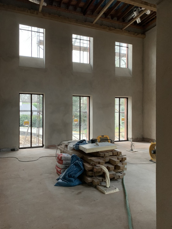 House M. Building process