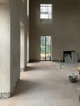 House M. Building process 11
