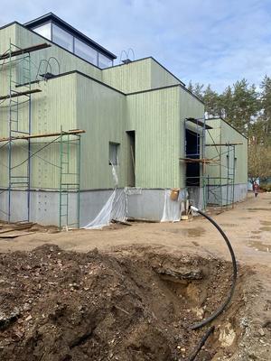 Реконструкция дома V. Строительный процесс