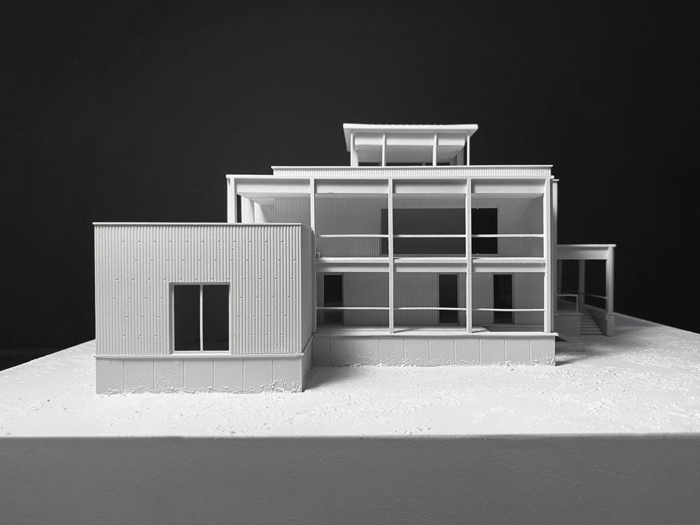 Реконструкция дома V. Макет