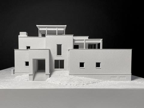 Реконструкция дома V. Макет 01