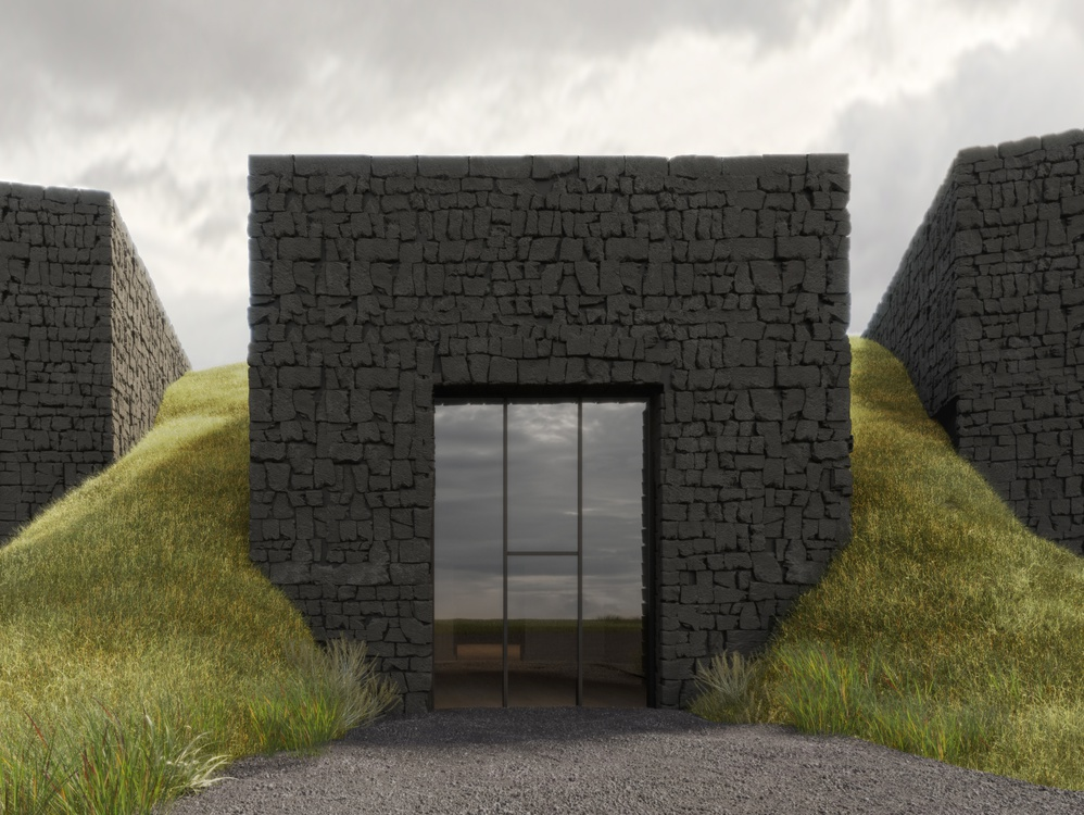 The project of the Volcano Museum in Iceland shortlisted in the competition