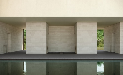 Swimming pool pavilion 11