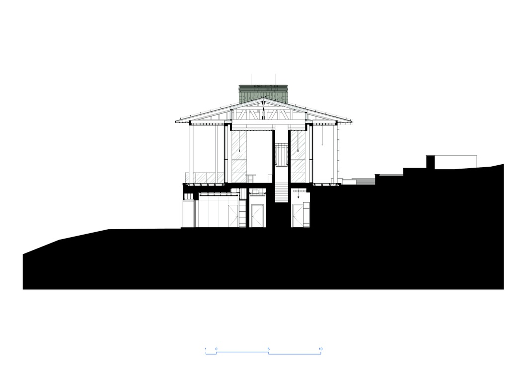 Volga House. Architectural drawings