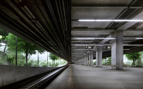 Metro Station 91